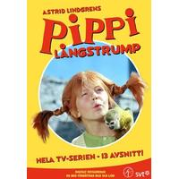 Pippi Långstrump: TV-serien - Remastrad (DVD 1969)