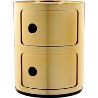 Kartell Componibili 2 Sektioner 5966 - GG Gold