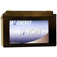 MX-Energy 12V 100Ah MX Energy Li-ion (LiFePO4) 336 x 171 x 213