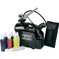 Sparmax Airbrush Set SK-55 med Kompressor