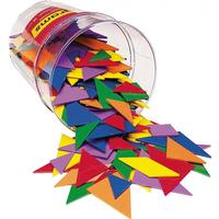 Tangrams Brikker Fra Learning Resources - 6 Farver.
