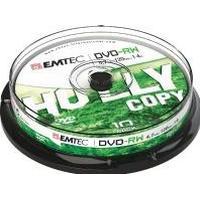 Emtec DVD-RW 4.7GB 4x Spindle 10-Pack