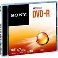 Sony DVD-R 4.7GB 16x Jewelcase 1-Pack