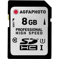 AgfaPhoto SDHC Card UHS I 8GB Professional High Speed 90/45