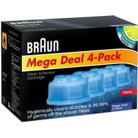 Braun Clean & Renew CCR4 4-pack