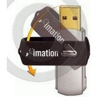 IMATION USB 2.0 Swivel Flash Drive 2 GB, 20599