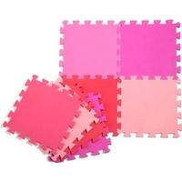 Babytrold skumpuslebrikker, pink, blå eller sort/grå