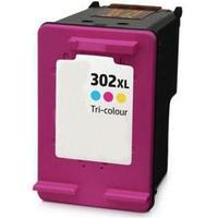 HP 302 XL C  med chip (20ml)  Color Bläckpatron, kompatibel