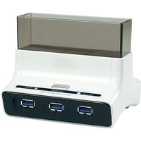 Renkforce USB 3.0 HDD-dockningsstation Renkforce rf-docking-04 SATA III 1 Port med USB-hub
