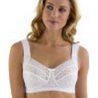 Miss Mary of Sweden Soft Cup Bra with Stylish Lace White (2895)