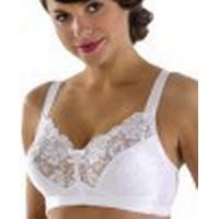 Miss Mary of Sweden Classical Soft Cup Bra White (2878)