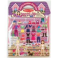 Melissa & Doug Dress-up Puffy Stickers
