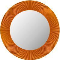 Kartell All Saints LED mirror, tangerine