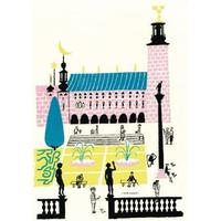 Olle Eksell Stockholm City Hall 1939 50x70cm Affisch