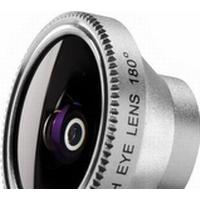 Walimex Fish-Eye 180, iPhone 4/4S/5, Sølv, Aluminium
