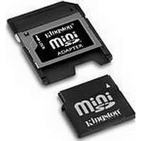 SanDisk - Flashhukommelseskort ( SD adapter inkluderet ) - 256 MB - miniSD