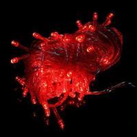 10 Meter LED Lyskæde - Rød