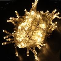 10 Meter LED Lyskæde - Varm Hvid