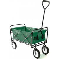 Trækvogn foldbar - grøn