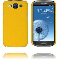 Roman Læderbetrukket (Gul) Samsung Galaxy S3 Cover