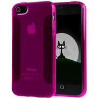 1-Ingen IDEAL-CASE Silikone Cover iPhone 5/5S/SE - Lilla