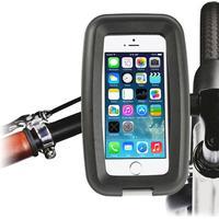 Vandtæt Motorcykel Samt Cykel Etui Til Smartphones Størrelse: 13 x 6 x 1.2 cm - Sort