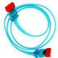 AC Ryan S-ATA kabel - 75 cm - UV Blå