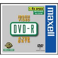 Maxell DVD+R 4.7GB 16x Jewelcase 5-Pack