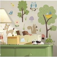 Wallstickers, Room2play, skovens dyr
