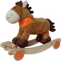 Jolly Gungdjur med hjul Ponny Brun