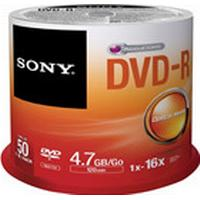 Sony DVD-R 4.7GB 16x Spindle 50-Pack