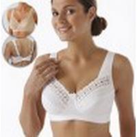 Miss Mary of Sweden Wonderful Soft Cup Bra White (2371)