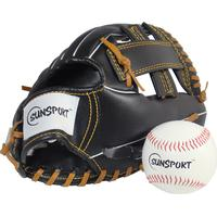 Sunsport Baseboll-handske med boll