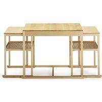 Tre Sekel Möbelsnickeri Släden satsbord 3-del - björk