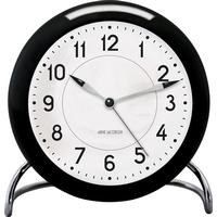 Arne Jacobsen Tableclock AJ Table Clock Station - Black