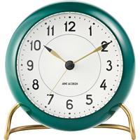 Arne Jacobsen Tableclock AJ Table Clock Station - Racing Green