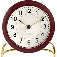 Arne Jacobsen Tableclock AJ Table Clock Station - Bordeaux