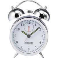 Eurochron Kvarts Väckarklocka Eurochron EQWG 53 Silver Larmtider 1