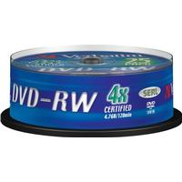 Verbatim DVD-RW 4.7GB 4x Spindle 25-Pack
