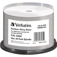 Verbatim CD-R Shiny Silver 700MB 52x Spindle 50-Pack