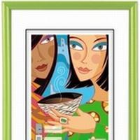 Hama Madrid, 20 x 30, Plastik, Grøn, Enkelt billedramme, 13 x 18 cm, 200 mm, 17 mm