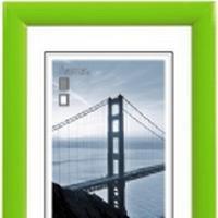 Hama Malaga, Plastik, Grøn, Enkelt billedramme, 13 x 18 cm, 200 mm, 300 mm