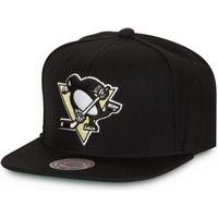 Mitchell & Ness Pittsburgh Penguins Wool Solid Snapback