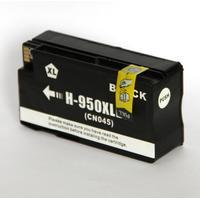 HP 950 XXL (HP CN 045 AE BGX) med chip (80 ml) Svart kompatibel bläckpatron