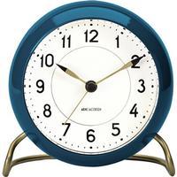 Arne Jacobsen Tableclock AJ Table Clock Station - Petroleum