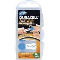 Duracell ActivAir 675 Hörapparatsbatterier, 6 st