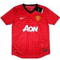 Adidas Manchester United Home Jersey 12/13 Youth