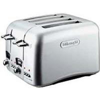 DeLonghi CT04 4 Slice Argento Toaster
