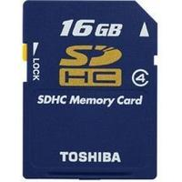 Toshiba SDHC Class 4 16GB
