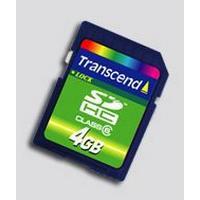 Transcend SDHC Class 6 4GB